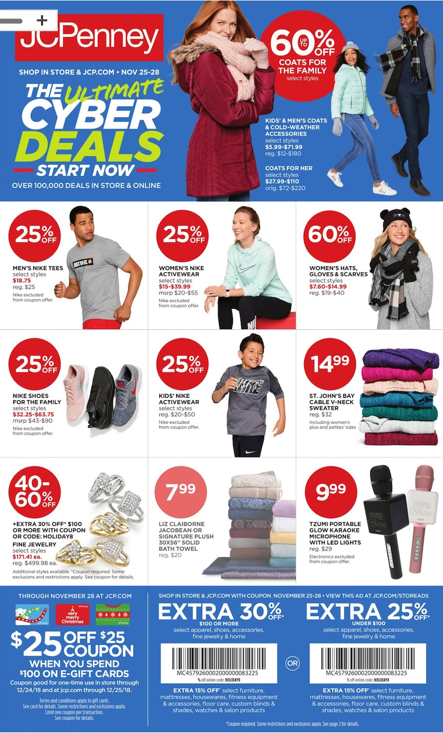 JCPenney Cyber Monday 2019 Ad, Deals and Sales