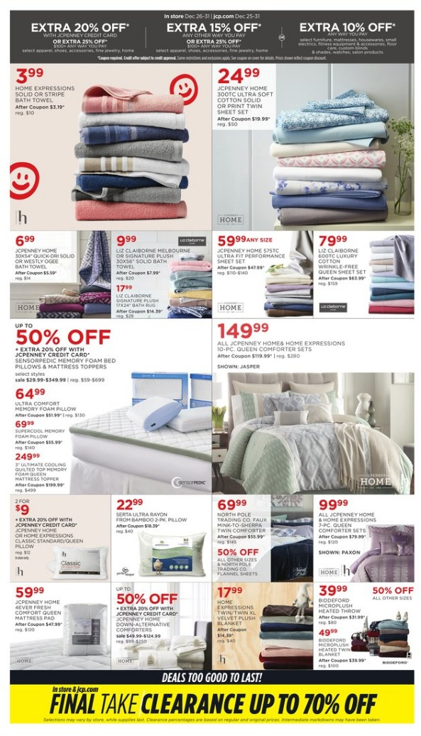 JCPenney After Christmas page 2